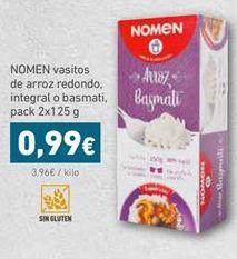 Oferta de Arroz en vasitos Nomen por 0,99€
