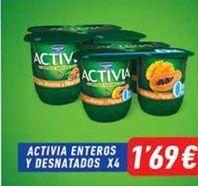 Oferta de Yogur bífidus Activia por 1,69€