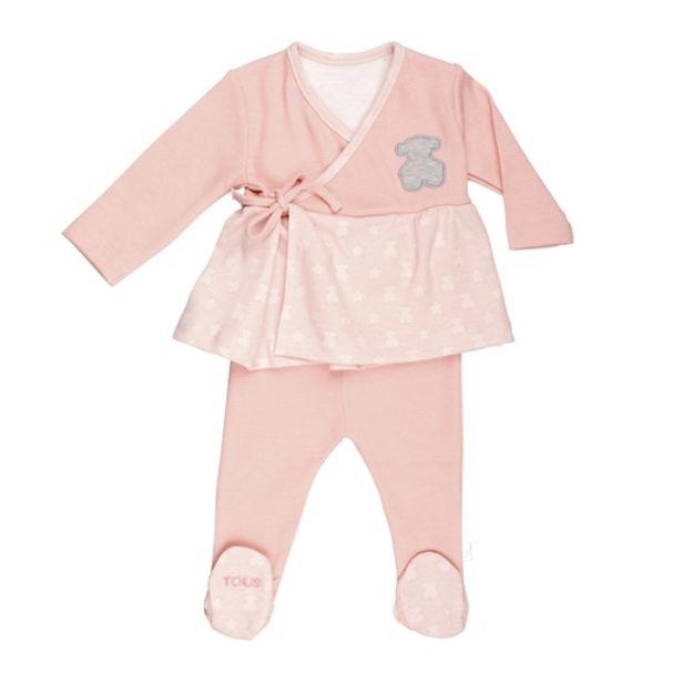 Oferta de        Conjunto niña camiseta y polaina Multipoints Rosa      por 49€
