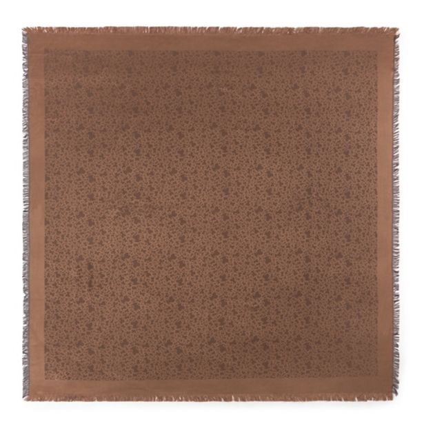 Oferta de        Pañuelo Kaos Mini de jacquard marrón      por 59€