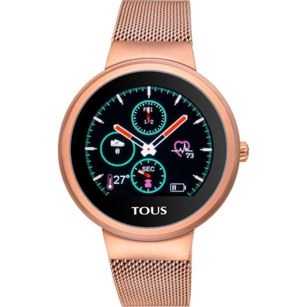 Oferta de        Reloj activity Rond Touch de acero IP rosado      por 199€