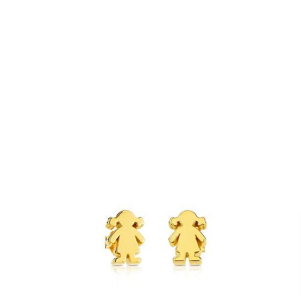 Oferta de Pendientes Sweet Dolls de Oro por 240€