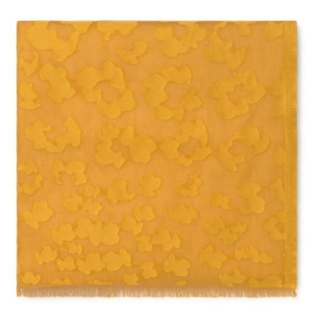Oferta de        Foulard Granate Leo de jacquard amarillo      por 59€