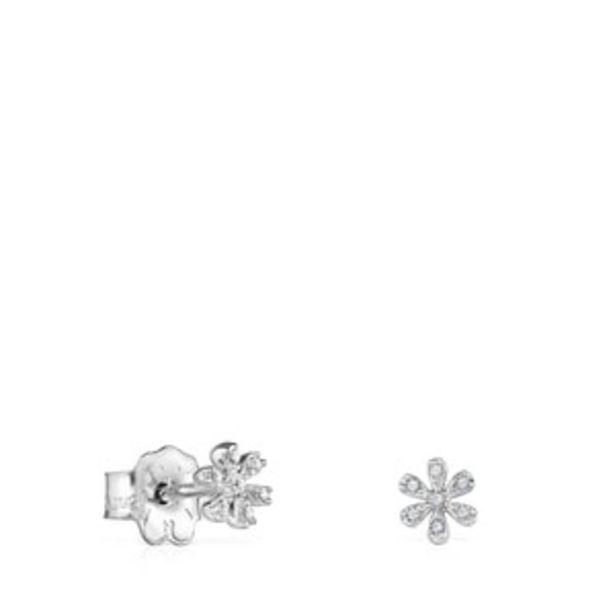 Oferta de        Pendientes Blume de Oro blanco con Diamantes      por 420€