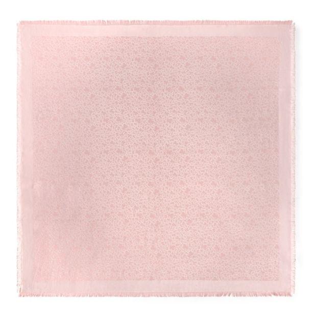Oferta de        Pañuelo Kaos Mini de jacquard rosa claro      por 59€