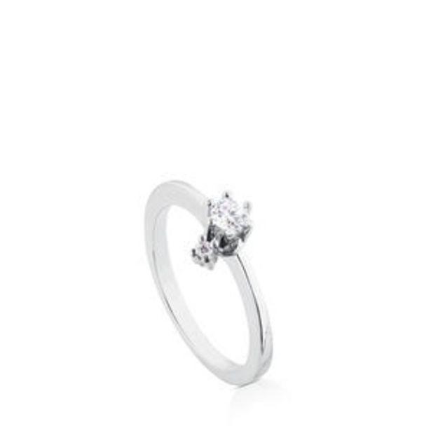 Oferta de        Anillo Les Classiques de Oro blanco con Diamantes      por 640€