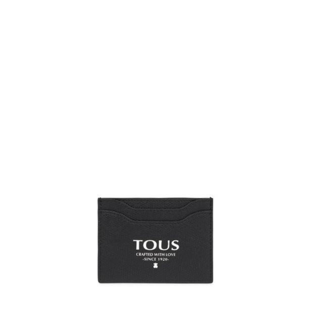 Oferta de        Tarjetero plano Tous Essential negro      por 29€
