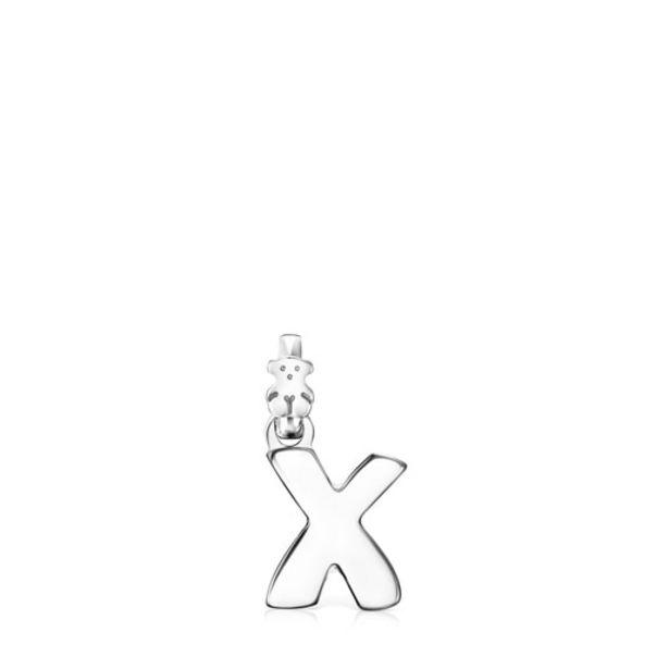 Oferta de        Colgante Alphabet letra X de Plata      por 40€
