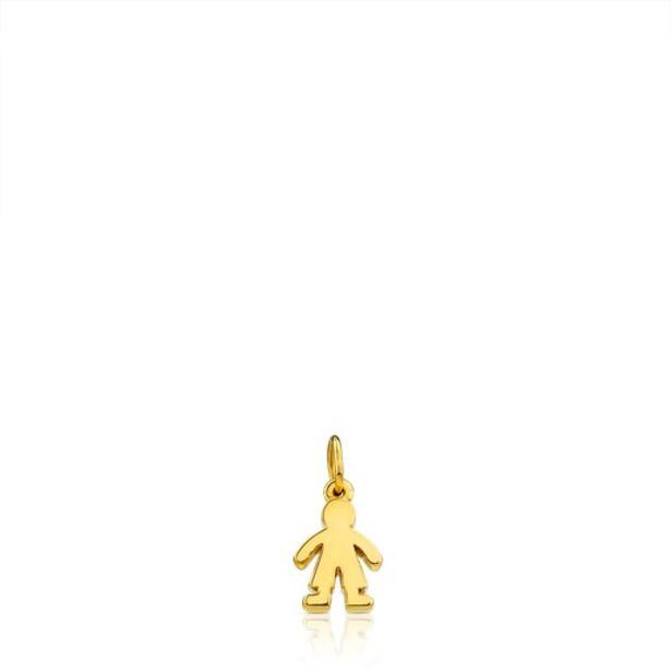 Oferta de        Colgante niño Sweet Dolls en oro      por 160€