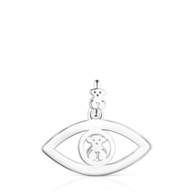 Oferta de        Colgante TOUS Good Vibes ojo de plata      por 57€