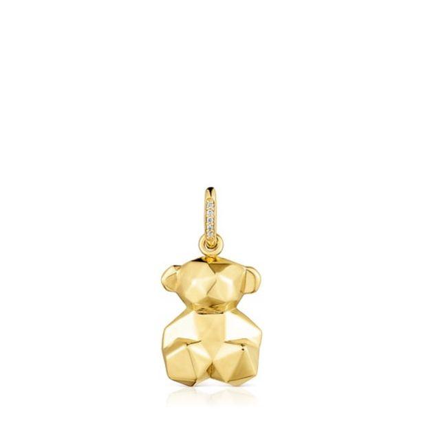 Oferta de        Colgante Sketx de oro y anilla de diamantes      por 350€