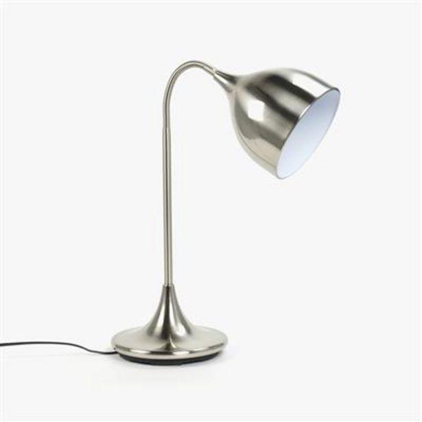 Oferta de Lámpara de Mesa con Foco Metal por 39,99€