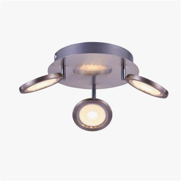 Oferta de Lámpara de Techo 3 Focus LED por 39,99€