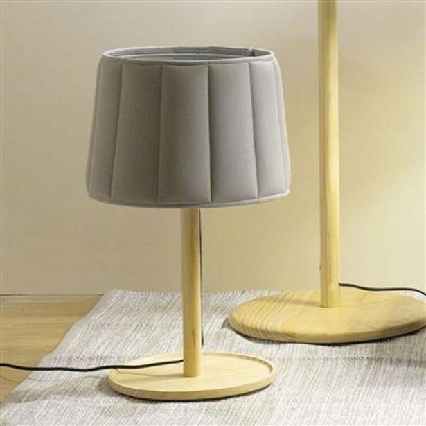 Oferta de Lámpara de Mesa PadCover Gris D: 30cm por 39,99€