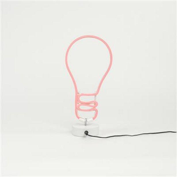Oferta de Bombilla LED Rojo 17x37 cm por 8€