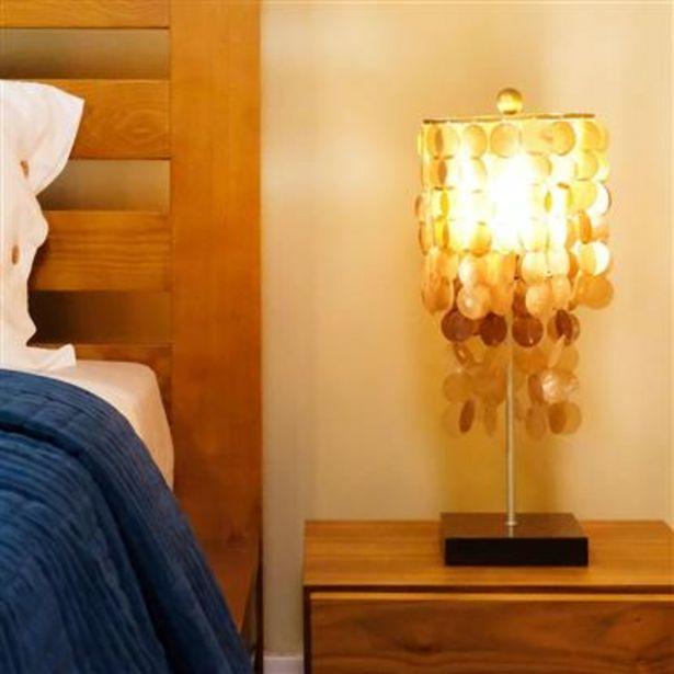 Oferta de Lámpara de Mesa Conchas Oro 25 cm por 39,99€