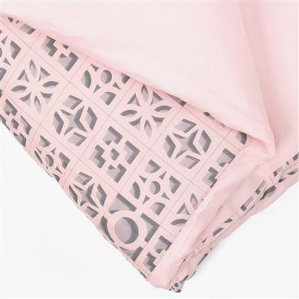 Oferta de Funda nórdica Breeze Blocks Rosa 140x200 cm por 19,99€