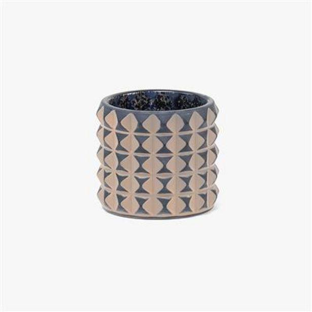 Oferta de Vaso Tealight Azul 8 cm por 3,99€