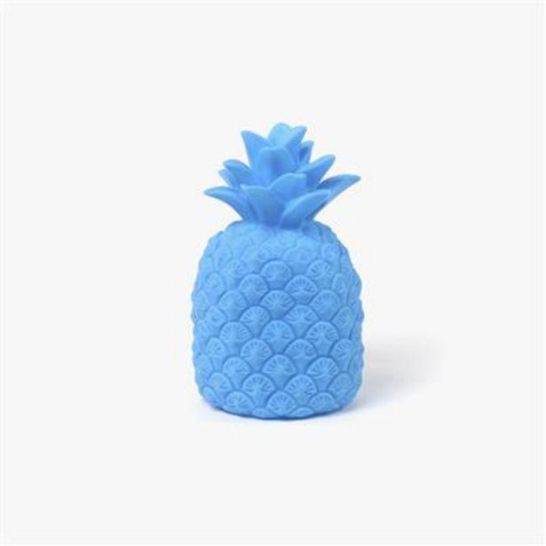 Oferta de Piña con Luz Azul 14x14x23 cm por 7€
