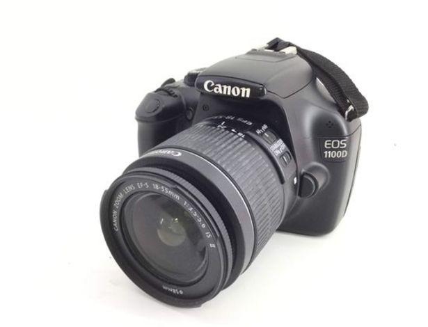 Oferta de Camara digital reflex canon eos 1100d+ef-s 18-55mm 1:3.5-5.6 is ii por 164,95€