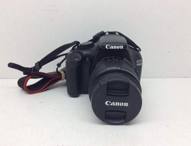 Oferta de Camara digital reflex canon eos 1100d+ef-s 18-55mm 1:3.5-5.6 is ii por 158,95€