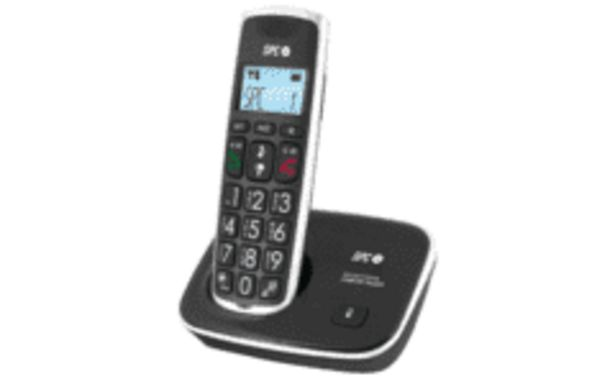 Oferta de REACONDICIONADO Teléfono - SPC 7608 con identificador de llamadas por 31,99€