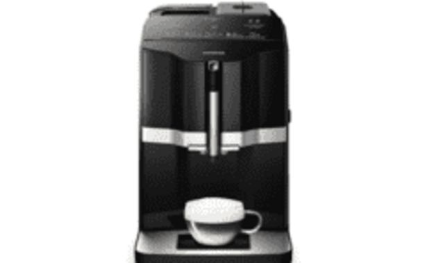 Oferta de REACONDICIONADO Cafetera espresso - Siemens TI351209RW, 1.4L, 1300W, 1 Taza, Negro por 359,2€