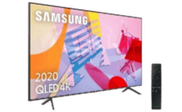 "Oferta de REACONDICIONADO TV QLED 55"" - Samsung QLED 4K 2020 55Q60T, Smart TV, 4K UHD, IA, Asistente de voz Integrado por 759,2€"