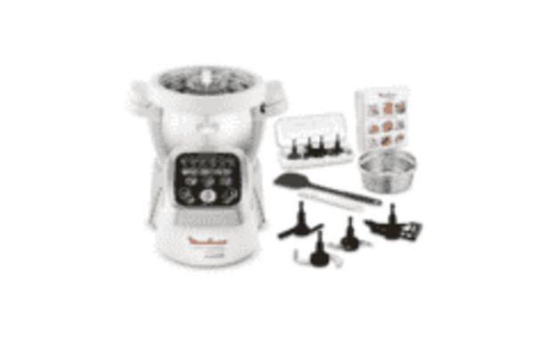 Oferta de REACONDICIONADO Robot de cocina - Moulinex HF906 i-Companion XL, 1550W, 16000 rpm, 13 vel., 4 funciones, 4.5 L por 639,2€