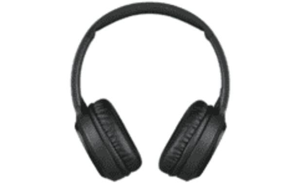 Oferta de REACONDICIONADO Auriculares inalámbricos - JVC HA-S80BN-B-E, Bluetooth, Cancelación de ruido, Negro por 69,59€