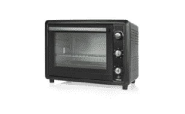 Oferta de REACONDICIONADO Mini horno - Tristar OV-1456, Potencia 2000W, Capacidad 60L, Temporizador de 60min, Termostato por 112€