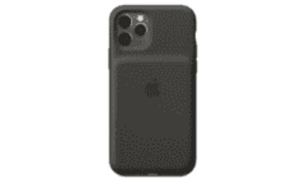 Oferta de REACONDICIONADO Funda batería - Smart Battery Case para el iPhone 11 Pro, Exterior de silicona, Negro por 124,8€
