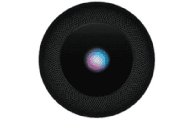 Oferta de REACONDICIONADO Altavoz inteligente - Apple HomePod, Chip A8, Siri, 360º, BT, Wi-Fi, Gris por 263,2€
