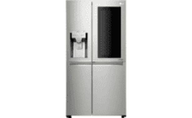 Oferta de REACONDICIONADO Frigorífico americano - LG GSX960NSVZ, InstaView Door-in-Door, 196L, 39 dB, No Frost, LED, A++ por 2039,15€