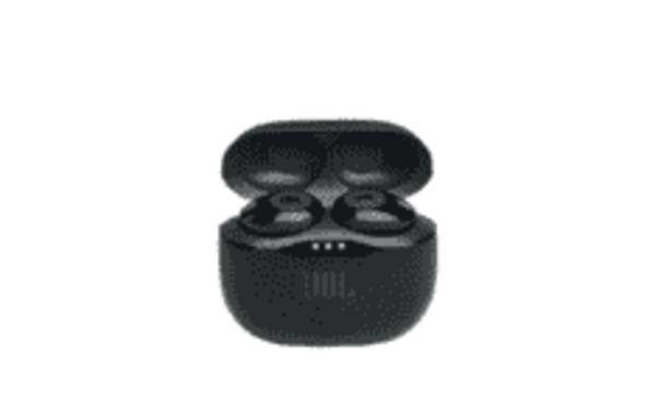 Oferta de REACONDICIONADO Auriculares inalámbricos - JBL Tune 120TWS, Bluetooth 4.2, Autonomía 4h, Negro por 71,99€