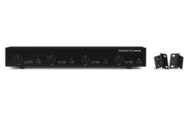 Oferta de REACONDICIONADO Selector de altavoces estéreo - Fonestar CB-400V, 100W, Interruptor de sonido, Negro por 154,4€