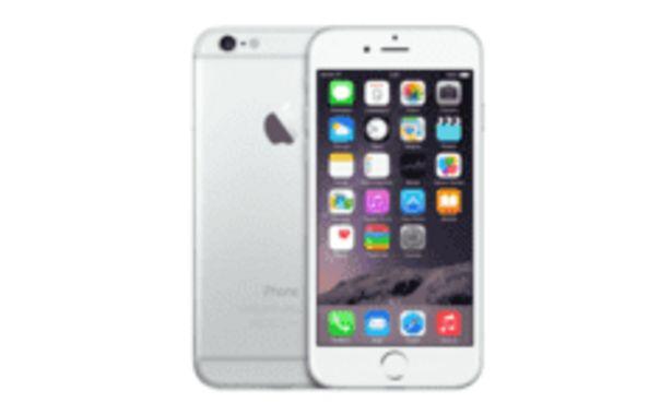Oferta de REACONDICIONADO Apple iPhone 6 Plata de 128 GB, red 4G por 599,2€