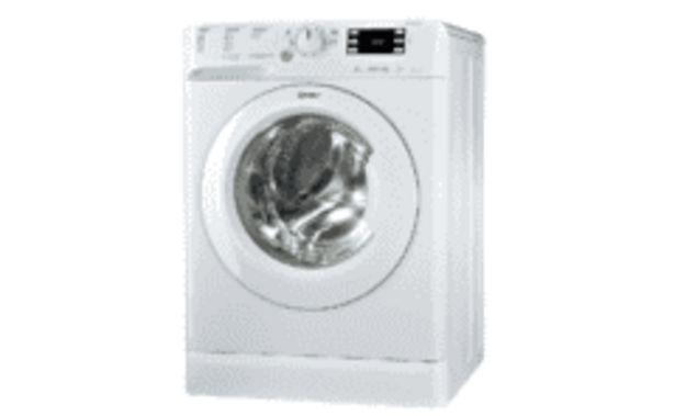 Oferta de REACONDICIONADO Lavadora secadora - Indesit XWDE 861480X WSSS EU, 8 Kg lavado, 6 Kg secado, 1400 rpm, Blanco por 359,2€