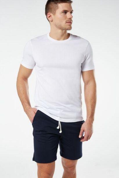 Oferta de Pantalón Corto de Punto con Cordón por 19,9€