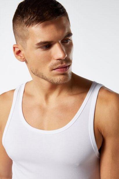 Oferta de Camiseta Sin Mangas Escote Redondo por 12,9€