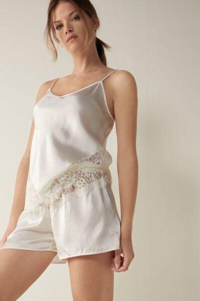 Oferta de Shorts de Seda Slip Into Elegance por 25,9€