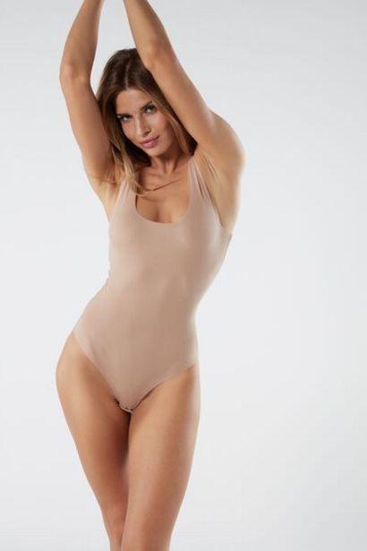 Oferta de Body de Cuello Barco en Supima Cotton® por 15,9€