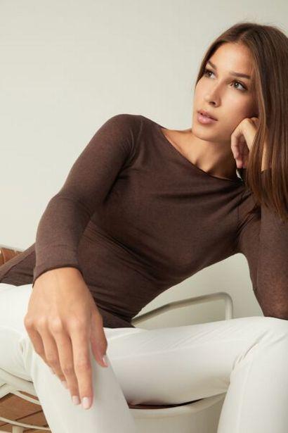 Oferta de Jersey de Cuello Barco de Cashmere Ultraligero de Modal por 29,9€