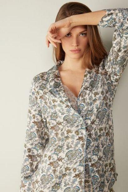 Oferta de Camisa en Raso de Viscosa Prairie Girl por 59,9€