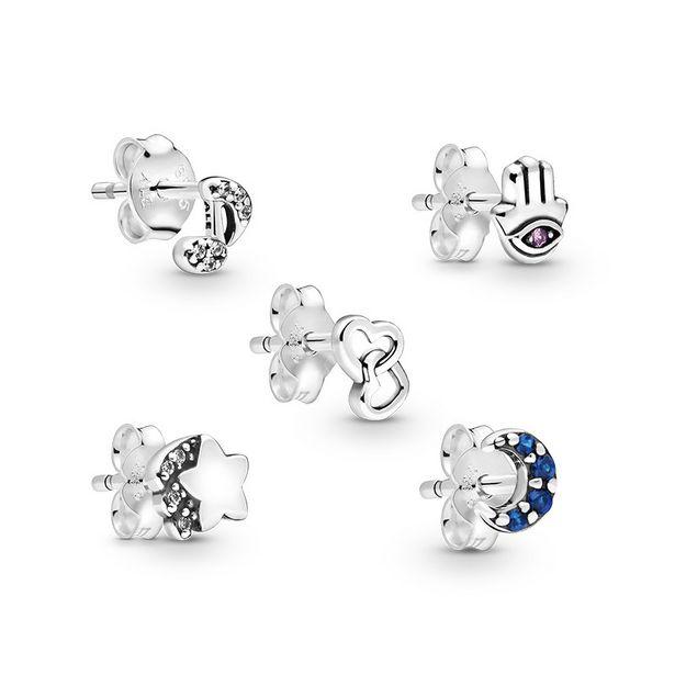 Oferta de Set de regalo pendientes Pandora Me Tu Propia Historia por 75鈧�