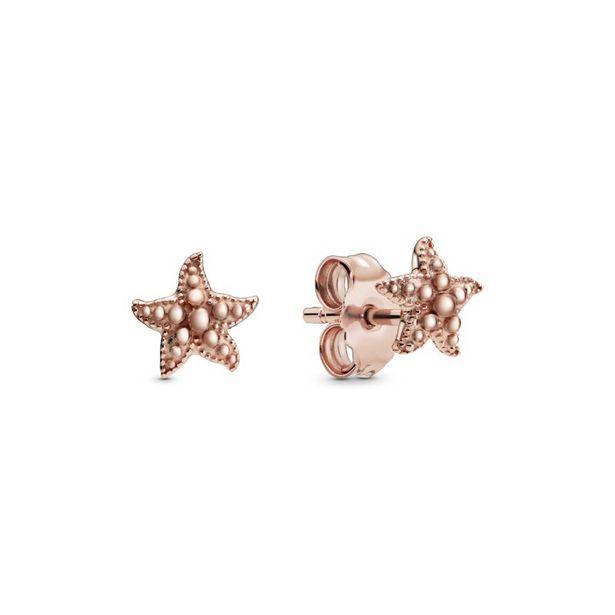 Oferta de Pendientes en Pandora Rose Estrellas de Mar con Esferas por 49€