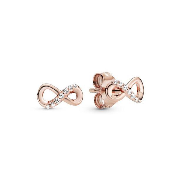 Oferta de Pendientes en Pandora Rose Infinito Brillantes por 49€
