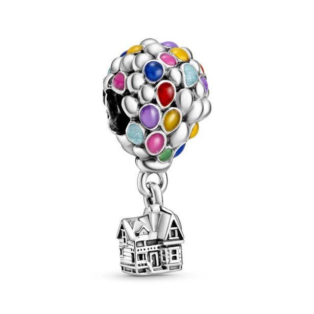 Oferta de Charm en plata de ley Casa y Globos de Up de Disney Pixar por 49€