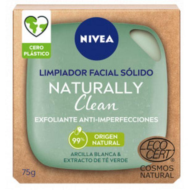 Oferta de Naturally Clean Exfoliante Facial Sólido Anti-Imperfecciones por 4,4€
