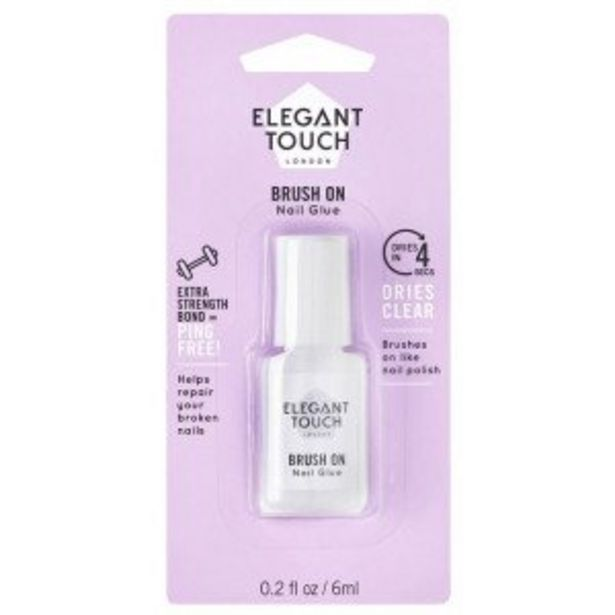 Oferta de Pegamento Uñas Brush On por 2,95€